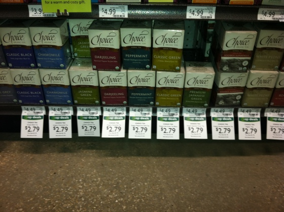 Choice Organics @ New Leaf Market