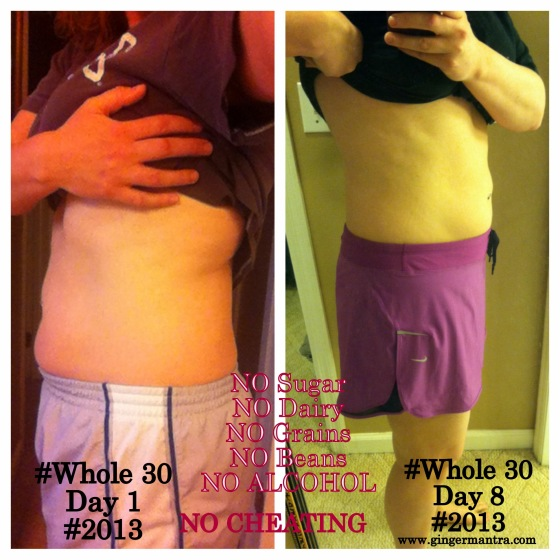 Day 8 #Whole30 - Week 1 DONE